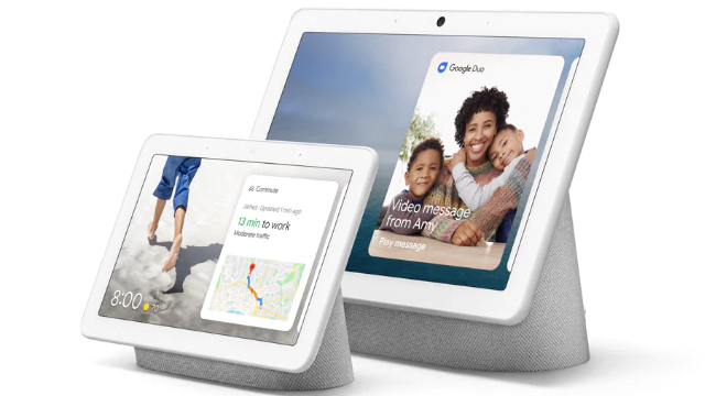 Google Nest Hub als marketingtool - Jessica